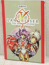 LANGRISSER V 5 Guide Sega Saturn Book TK28*