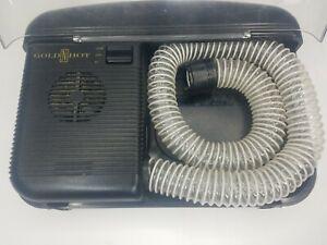 Vintage Windmere Soft Bonnet Black Hairdryer Portable SBD-40 Hair Dryer  TESTED