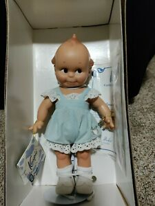 Kewpie Doll Cameo Collectibles Classic Blue Romper 12 In. Item #44693