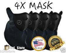 4 Pack Winter Neoprene Half Face Mask With Filter Motorcycle Ski Black Mask USA