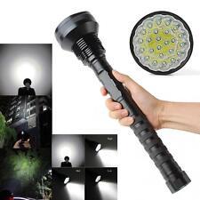 40000LM 24 x CREE XM-L T6 LED 5 Modes 26650/ 18650 Torch Tactical Flashlight