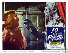 13 GHOSTS LOBBY SCENE CARD # 2 POSTER 1960 JO MORROW WILLIAM CASTLE