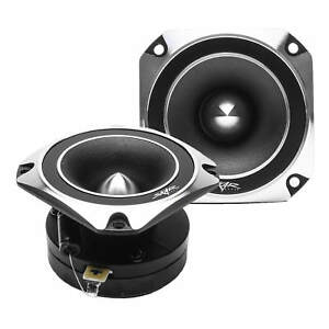 NEW SKAR AUDIO VX35-ST 3.5-INCH 500 WATT TITANIUM BULLET SUPER TWEETERS - PAIR