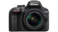 Nikon D3400 & 18-55AFP BUNDLE with Snoot & 8GBSD card & 55mm UV filter