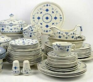 FURNIVALS Dinner Teaware DENMARK BLUE Johnson Bros Mason's Selection You Choose