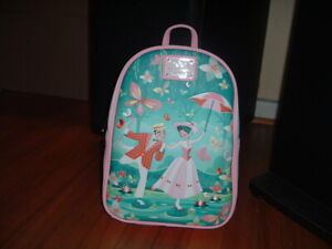 LOUNGEFLY DISNEY MARY POPPINS JOLLY MINI BACKPACK~ WITH TAGS~ NEW~ PINK~
