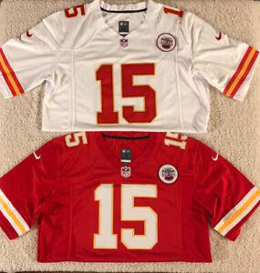Patrick Mahomes #15 Kansas City Chiefs Men's Red/White Stitched Jersey
