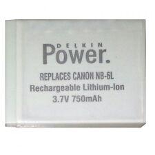 Bateria Delkin NB-6L para Canon PowerShot D10, D20, ELPH 500 HS, S90, S95, S120