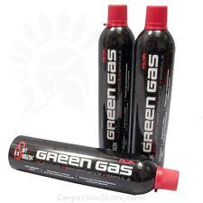 AIRSOFT SURGEON Green Gas 600ml bottles GBB Gas Airsoft Softair