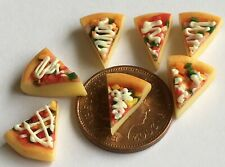 1:12 Scale 7 Pizza Slices Kitchen Accessory Tumdee Dolls House Miniature Bread