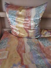 Bettwäsche Satin Glanzsatin Polyestersatin gemustert Größe 135x200 cm