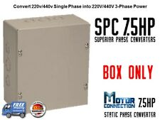 Static Phase Converter - 7.5 HP - Create 3 Phase Power from Single Phase Supply!
