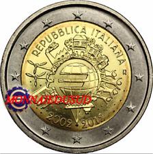 2 Euro Commémorative Italie 2012 - 10 Ans de l'Euro TYE UNC NEUVE