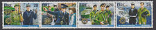 IRELAND, Scott #723-726 Se-tenant, MNH, 1988 Security Forces - Complete