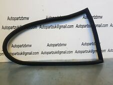 BMW E46 3 Series Coupe Rear Driver Passenger Ns Os Window Seal OEM 8252621 uf9b2