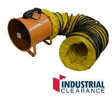 Industrial Portable Ventilator 300mm with 5 mtrs ducting Garage Fan