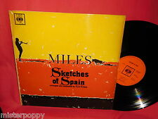 MILES DAVIS Sketches of Spain LP UK 1960 MINT- MONO CBS BPG62327