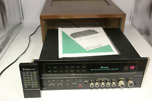 McIntosh C37 Preamp System Control Center with RARE Remote HR37 and Cabinet