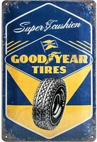 Goodyear Tires Super Cuscino Goffrato Segno Del Metallo 300mm x 200mm (Na)