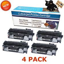 4-pk Toner For HP 80A LaserJet Pro 400 M401dw M401dne MFP M425dn M425dw CF280A