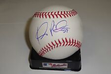 Jhonny Peralta Signed Official Major League Baseball w/COA Cleveland Indians