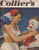 1950 Colliers April 29 - Circus Clown; Charlie McCarthy