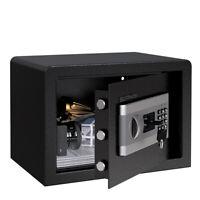 Security Safe Cabinet Electronic Cash Box Digital Keypad Lock 2X Key Master Code