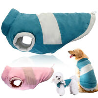 Medium Large Dogs Winter Clothes Warm Padded Big Dog Jacket & Coat Vest Labrador