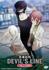 Devil's Line DVD Complete 1-12 (English Dub)  - US Seller Ship FAST