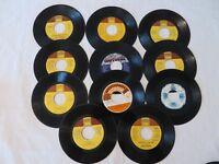 45 RPM Stevie Wonder Assortment Lot of 11 Records Motown Tamla Funk Soul #R043