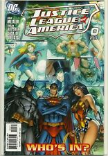 JUSTICE LEAGUE OF AMERICA (2006) #10! NM! J. SCOTT CAMPBELL 1:10 VARIANT COVER!