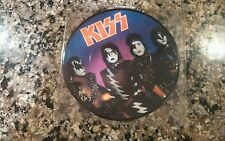"""KISS A WORLD WITHOUT HEROES 1981 UK PICTURE DISC 7"""" RECORD"""
