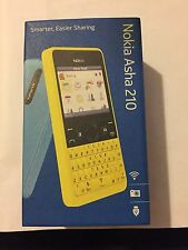 Brand New Nokia Asha 210 White Unlocked To All Networks