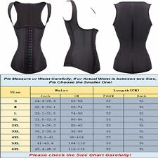 Wast Trainer Shaper Tummy Control Underbust Corset Bustier Sweat Body Shaper