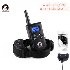 PaiPaitek 500 Yard Remote Pet Dog Training Collar Dog No Bark Stop Collor PD520S