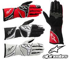 Alpinestars 2015 Tech 1-K Gloves, Karting Clearance Sale, Ideal for AUTOGRASS