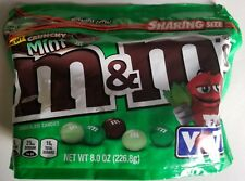 NEW 2018 M&M'S CRUNCHY MINT FLAVORED CHOCOLATE CANDIES FREE WORLDWIDE SHIPPING