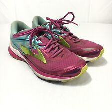 Brooks Ravenna 8 Women's 8 B Purple Blue Lace Up Athletic Running Shoes