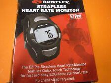 New !  Bowflex EZ Pro Strapless Heart Rate Monitor (Black) Nice Gift