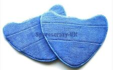 To fit VAX Bare Floor Pro S2S S3S S7 S86-SF-C Steam Washable Mop Cloth Pad 2 pk