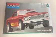 66 Chevelle Malibu SS 427 Street Rat Monogram Vintage Sealed Kit !! USA Made!!
