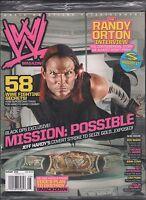 WWE magazine August 2008 Jeff Hardy, Randy Orton, The Edge EX 121115DBE