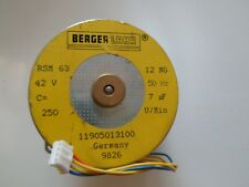 Berger Lahr rsm63 12ng 42v 50hz sincrónico * 1 trozo * * nuevo *