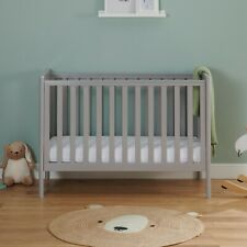 A GRADE - BABYMORE ELLIE DROP SIDE COT BED – GREY