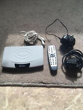 Used Sagem Freeview/ Digi Box - Includes Remote & Scart Lead - Good Condition