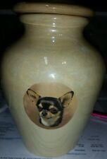 Pet urn/Dog cremation/Chihuahua/memorial/Ashes
