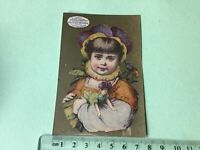 House of Demorest Patterns  Victorian American Advertising Trade Card Ref 49424