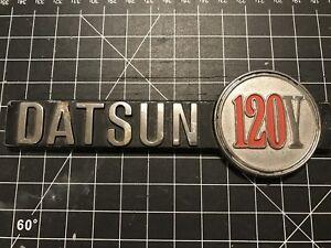 Datsun 120Y Car Badge