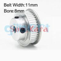 Aluminum 3D Printer MXL Timing Pulley 100T Fit MXL Belt Width 11mm CNC