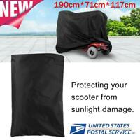 190CM Eldly Mobility Waterproof Scooter Storage Cover Wheelchair Rain Protector